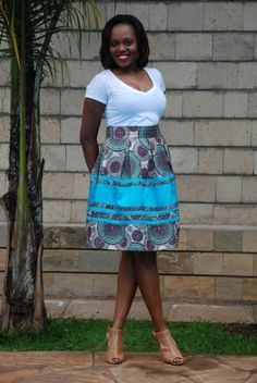 Day 5: The Flirty Skirt by Thula Sindi | 100 Days Of African Fashion