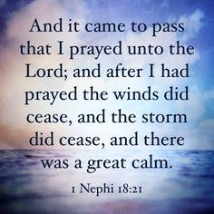 Praying!