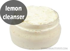 Lemon Cleanser – Face Brightener