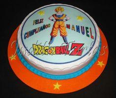 "Torta con fondant ""Dragon Ball"""