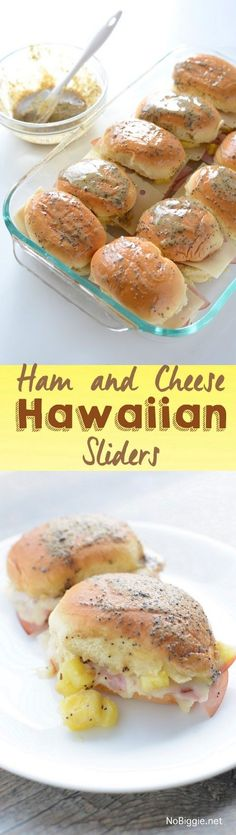 Ham and Cheese Hawai