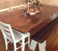 Farmhouse Dining Room Table :: Hometalk