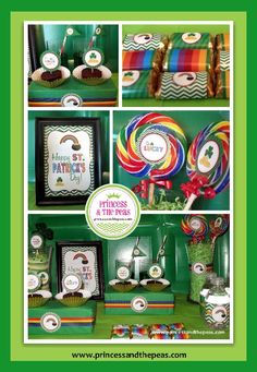 St. Patrick's Day Printables | St. Patrick's Day Party | St. Patrick's Day Party Ideas | St. Patrick's Day Party Printables  #st.patrick'sday #printables #party