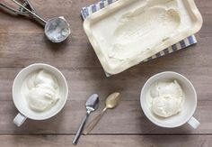 Paleo Vanilla Ice Cream (vegan option) #GrassFedKitchen