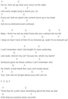 R5 i can t forget about you chords capo version piano keyboard chords
