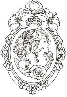 Cameo Tattoo by Metacharis.deviantart.com on @deviantART