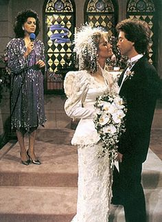 Deidre Hall and Drake Hogestyn...Marlena and John  ...and that is Marilyn McCoo in the background