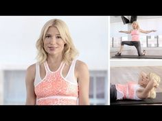 Sculpt an alluring hourglass waist in two simple steps with Hollywood trainer Tracy Anderson's expert guide.