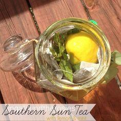 southern sun tea recipe