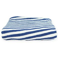 MIDWEIGHT MUSLIN ALWAYS BLANKET - BLUE STRIPE   http://www.monicaandandy.com/accessories/midweight-muslin-always-blanket-blue-stripe.html