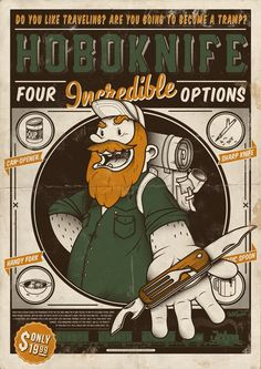 CLASSIC POSTERS by Hobo and Sailor , via Behance