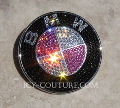 Swarovski Crystal BMW Emblem Badge is included by IcyCouture, $192.00