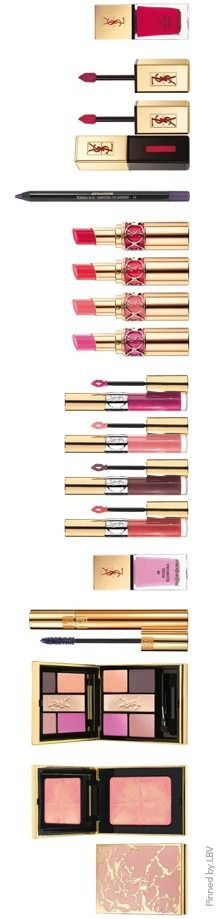 Yves Saint Laurent Spring 2014 Makeup Collection | LBV ♥✤ | BeStayElegant