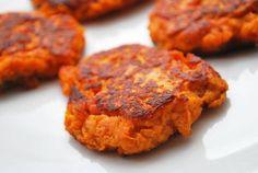 Sweet Potato Cakes Recipe | Healthy Recipes Blog potato cakes recipe, sweet potato recipes healthy, healthi food, healthier recip, sweet potato cakes, healthy recipes, healthi recip, healthi yummi, cake recipes