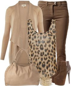 woman fashion, style, anim print, outfit, animal print shirt, animal prints, tank, shoe, leopard