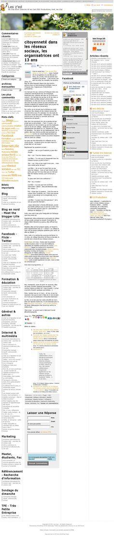 l'annonce de la journée sur les z'ed : citoyenneté dans les réseaux sociaux, les organisatrices ont 13 ans http://leszed.ed-productions.com/citoyennete-dans-les-reseaux-sociaux-les-organisatrices-ont-13-ans/