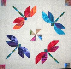 Quilt~ Dance of the Dragonflies