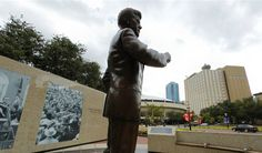 Panorama: Explore Fort Worth's JFK Plaza with our 360-degree panorama.