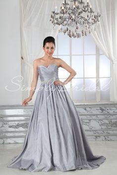 Sally Gown -Silver wedding dress? Hmmm... Wedding Dressses, Ball Gowns, Gown Silver, Salli Gown