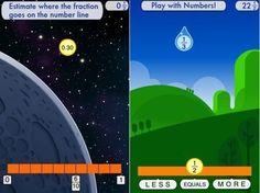 8 aplicaciones de iPad para enseñar matemáticas a niños pequeños