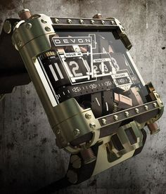 DEVON TREAD Limited Edition - The Reinvention of the Watch - Features a System of Interwoven Time Belts via Fancy