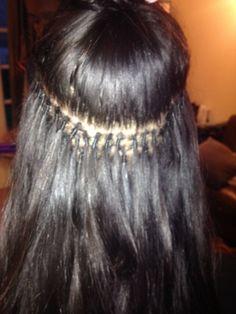 Brazilian Knots Hair Extensions Tutorial 49