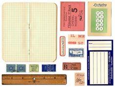 printable vintage ephemera, easter card, office supplies, creativ handmad, diy gifts, handmade gifts, hand made, printabl, vintage style