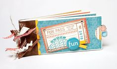 A cute summer pass gift idea from #CTMH. Follow the link for instructions to create your own coupon book!