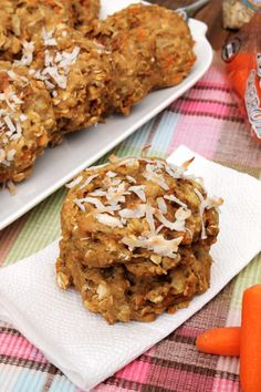 Carrot Cake Breakfast Cookies #Brunchweek