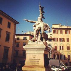 Ai forti che caddero a Mentana - Piazza Mentana, Firenze