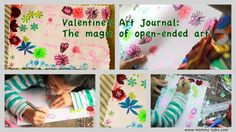 Art Journal - why it's the best open-ended way of art and learning for kids....  www.mommy-labs.com