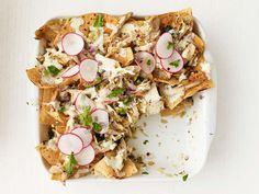 Chicken-Zucchini Chilaquiles from #FNMag