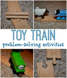 Toy Train Problem Solving Activities
