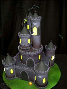 Haunted Castle cake