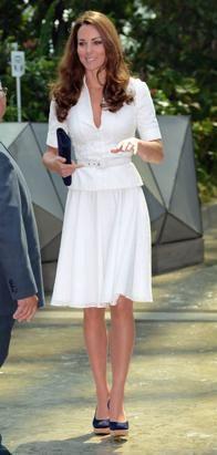 Kate Middleton Chic in Singapore