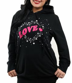 love explosion plus size hoodie more women plus size pullover hoodie