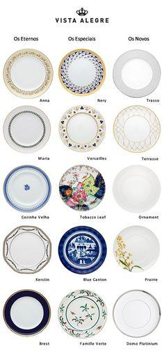 Vista Alegre tableware chine #Portugal