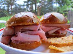 Hot Ham Dips   Plain Chicken