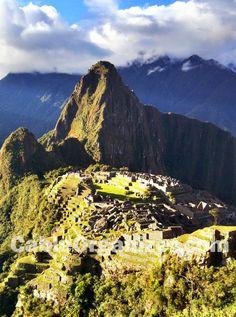 Machu Picchu, Peru, golden hour