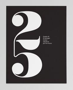 25th anniversary card / jeremy evans.