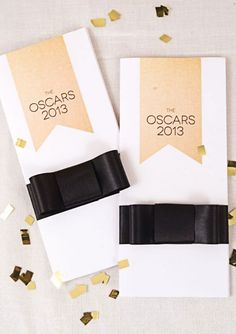 oscars 2013 free printable ballot from @Brittany Egbert
