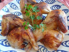 Portuguese Baked Chicken! http://portuguesediner.com/tiamaria/portuguese-baked-chicken/