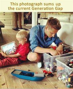 Current Generation Gap! Not my child!!