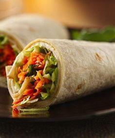 Asian Chicken Roll-Ups