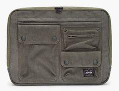 White Mountaineering Cargo Laptop Case //