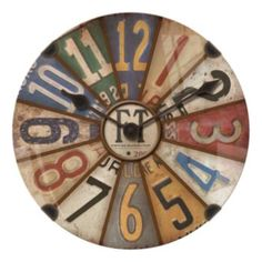 FirsTime Axel Dome Wall Clock