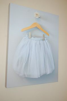 The perfect wall decor for the ballerina room, I customized at Gallery Direct