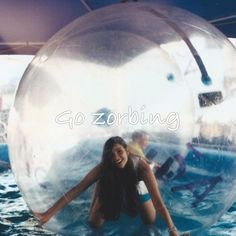 These look so fun still don't know why it's  called zorbing