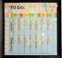 Adult Chore Chart - love this. We are trying to get a handle on our chores before baby gets here.  This might just do it!