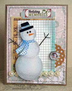 Love this card by Daniela Dobson & @Design Memory Craft